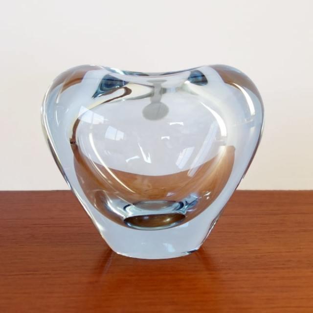 ヴィンテージ ホルムガード ガラス花瓶