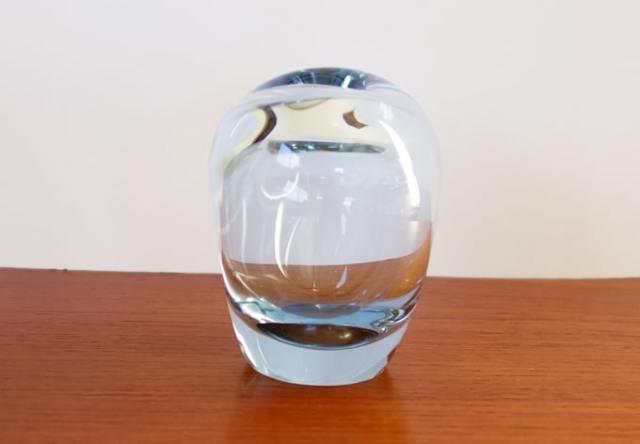 ホルムガード ガラス花瓶 横