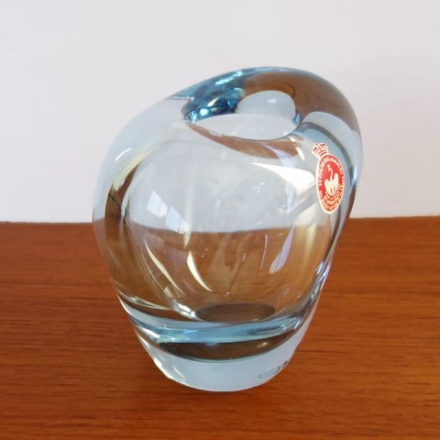 ヴィンテージガラス花瓶 ホルムガード