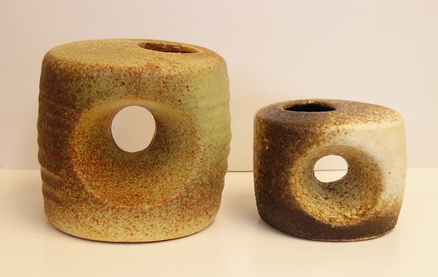 アンティーク 陶器 花瓶