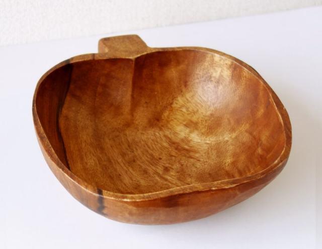 木製ボウル ビンテージ雑貨