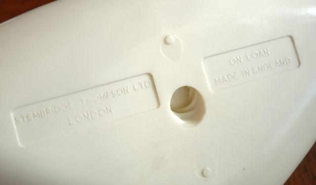 british United 灰皿 刻印