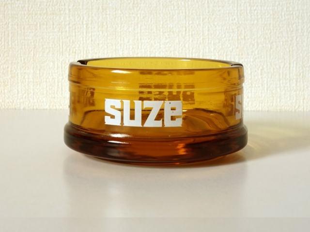 SUZEガラス灰皿 アンバー