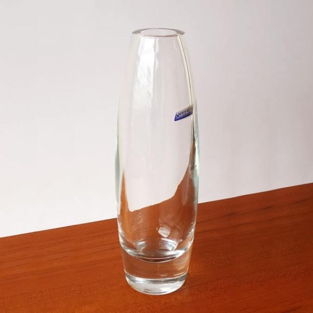 ビンテージガラス花瓶 クリア
