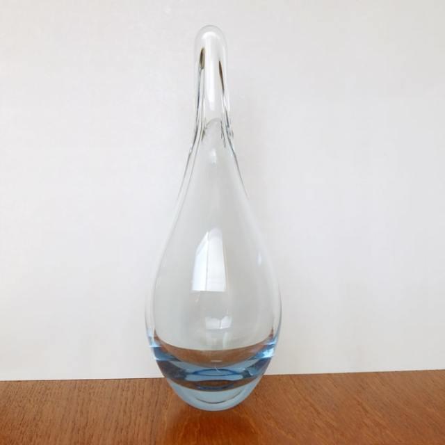 北欧ヴィンテージガラス花瓶 ホルムガード
