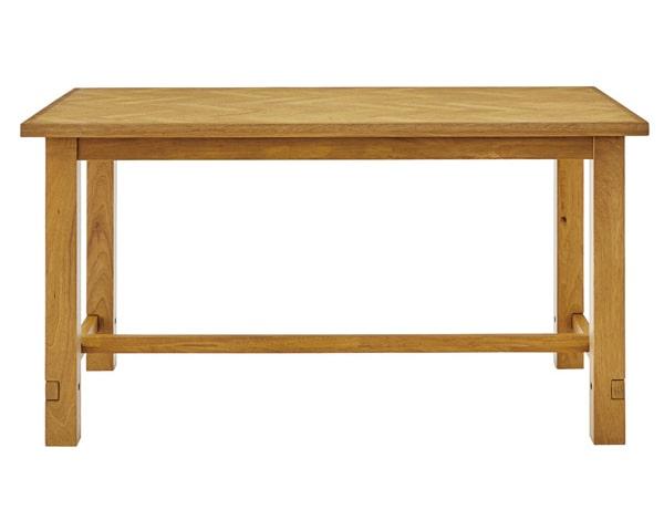 ヘリンボーンのダイニングセット テーブル
