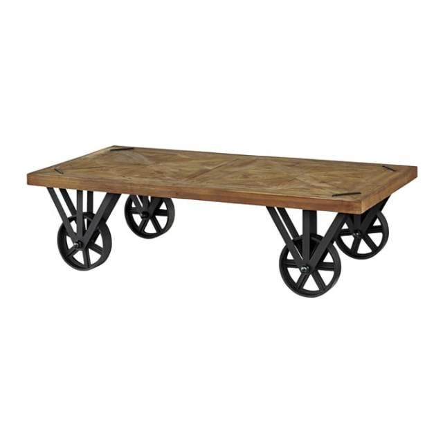 インダストリアルなローテーブル車輪
