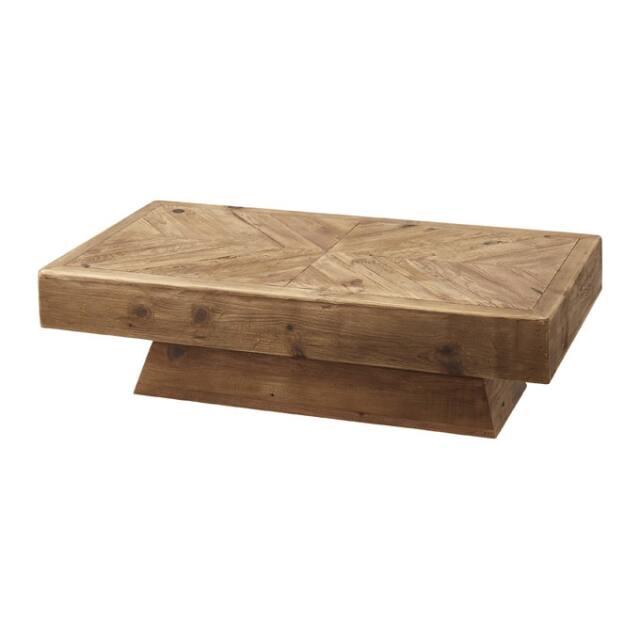 古材リメイク ローテーブル