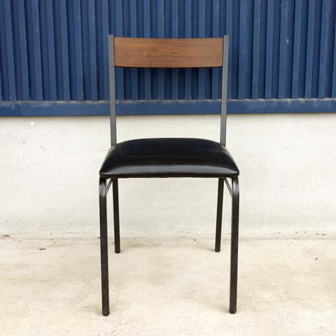 鉄脚チェア インダストリアル系家具