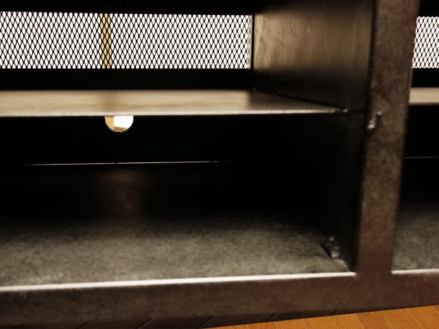 テレビ台 コード穴付き