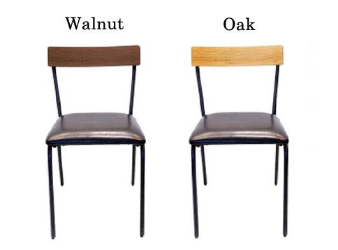 椅子ウォルナットとオーク