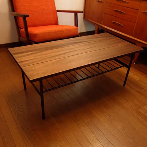 無垢材 ローテーブル ウォルナット