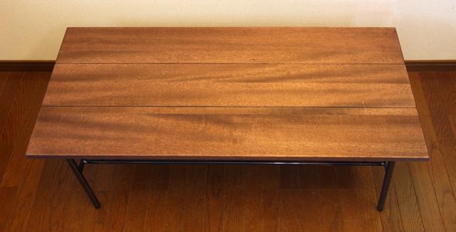 無垢ウォルナット コーヒーテーブル