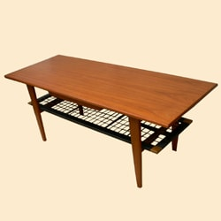 ヴィンテージ コーヒーテーブル ひきだし付き