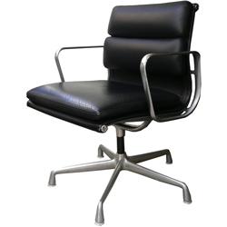 ft0253Eamesソフトパッドグループチェア革張り*amber design*北欧家具やビンテージ雑貨等のインテリア通販
