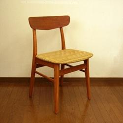 北欧ビンテージ椅子 ベージュ