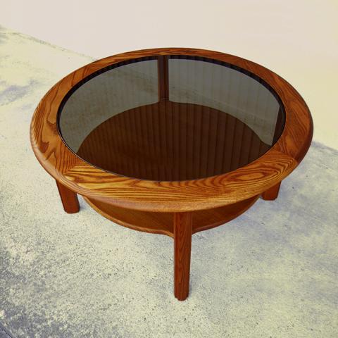 G-PLANガラスコーヒーテーブル