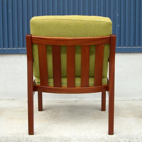 デンマーク木製イージーチェア
