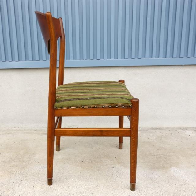 北欧ヴィンテージ椅子 横