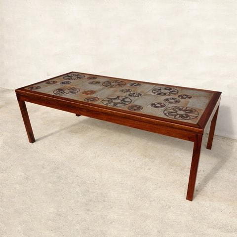 北欧ビンテージ タイルテーブル