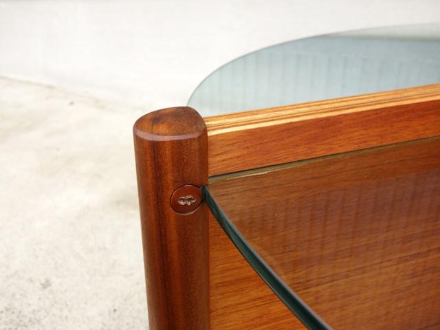ビンテージガラステーブル 脚