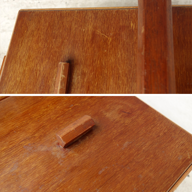 アンティーク裁縫箱 蓋