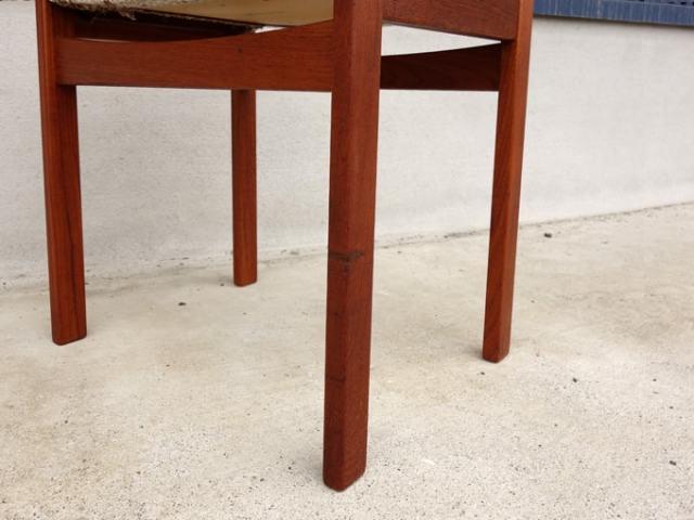 ヴィンテージ木製スツール脚