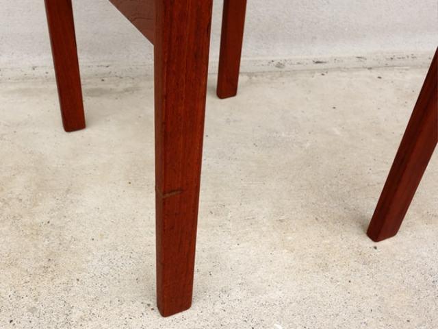 木製ミニスツール脚