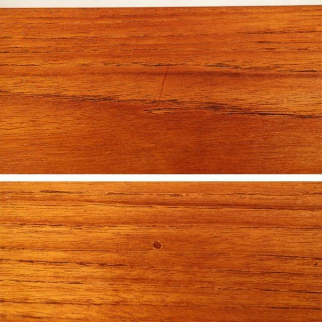 ビンテージテーブル表面