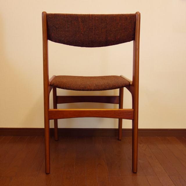 ビンテージ椅子 背面