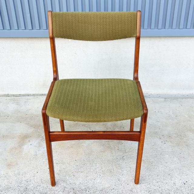 ヴィンテージ椅子 モスグリーン
