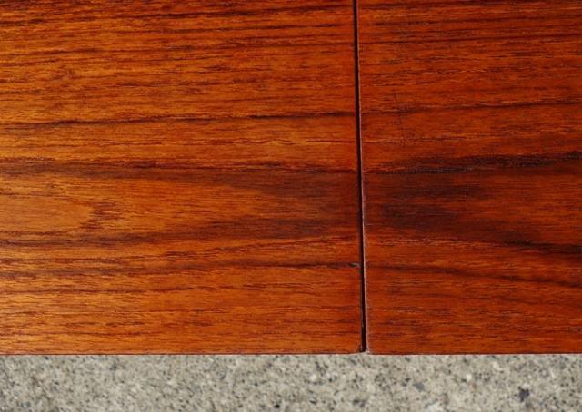 ビンテージコーヒーテーブル 天板アップ