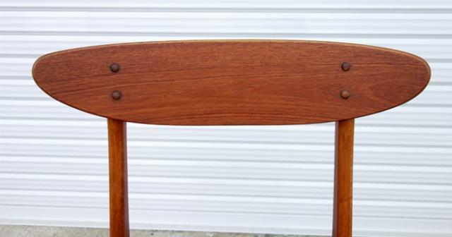 ヴィンテージ椅子 背もたれ表面