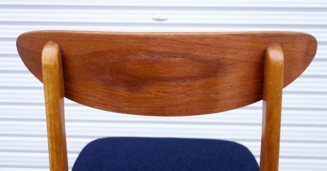 ヴィンテージ椅子 背もたれ後ろ側