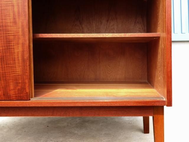 ヴィンテージ本棚 引き戸