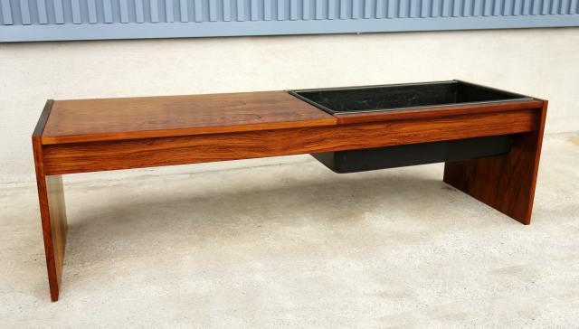 北欧ヴィンテージ木製プランター
