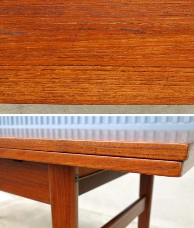 ヴィンテージテーブル天板 状態