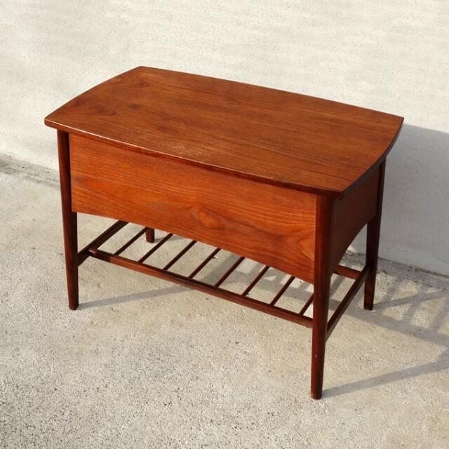 北欧ビンテージ木製ソーイングテーブル