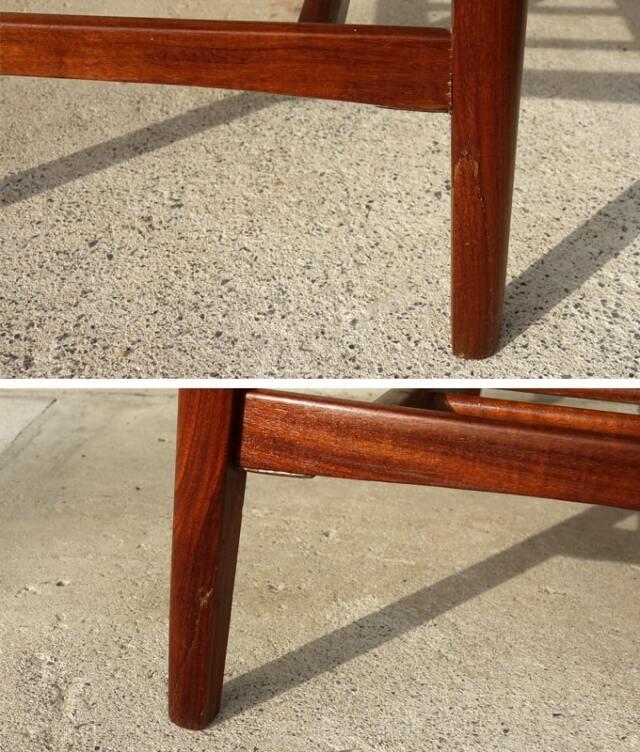 ソーイングテーブル脚 状態