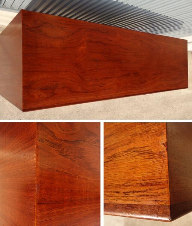ヴィンテージ木製キャビネット天板