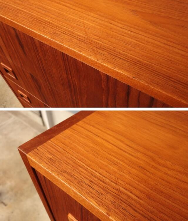 ヴィンテージ木製ハイチェスト コンディション