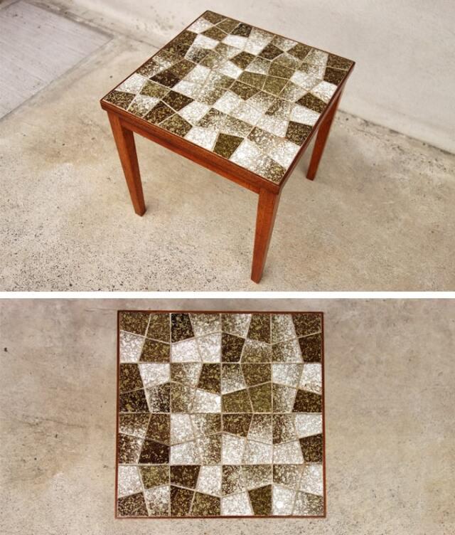 ヴィンテージタイルテーブルS