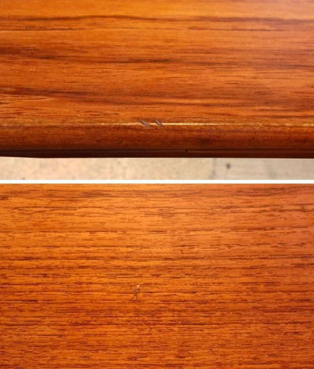 ヴィンテージテーブル 天板状態