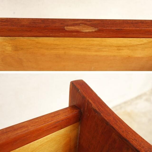 ヴィンテージ木製プランター コンディション