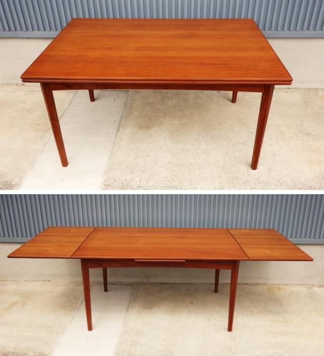 エクステンションダイニングテーブル 北欧家具