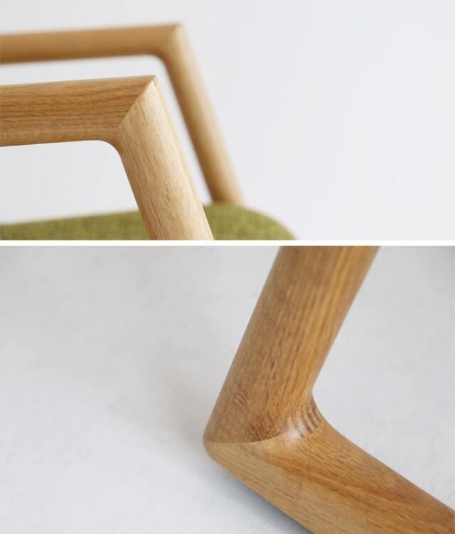家具職人が高い技術で仕上げた国産の椅子