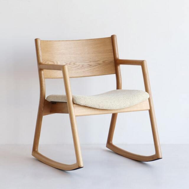 木製ロッキングチェア グッドデザイン賞