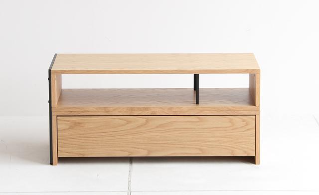オーク天然木 テレビ台