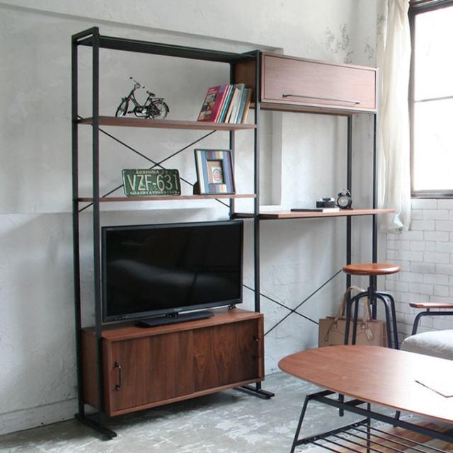 TVユニットシェルフ インダストリアル系家具