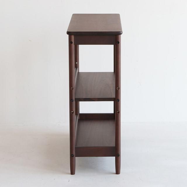 木製3段シェルフ 本棚
